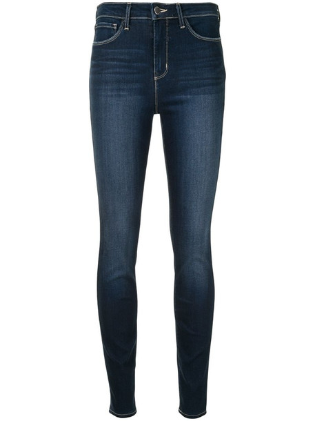 L'Agence Marguerite skinny jeans in blue