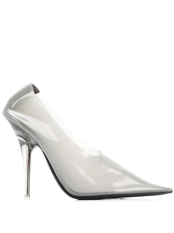 Yeezy slip-on pumps in grey