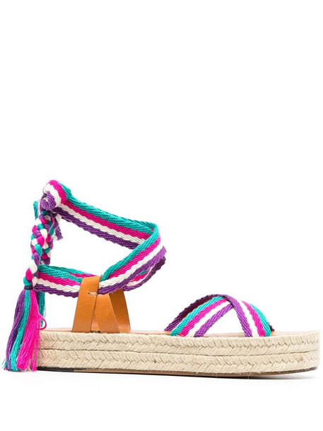 Isabel Marant Erol wraparound sandals in green