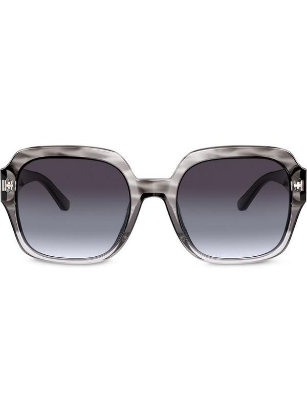 Tory Burch oversized sunglasses in grey