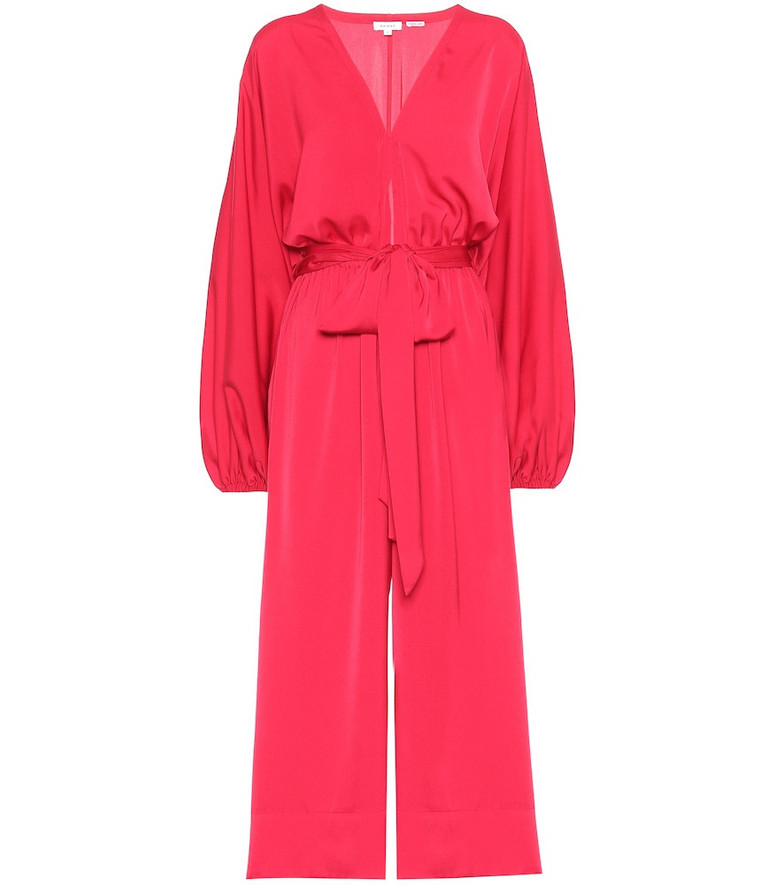 RHODE Blake high-rise jumpsuit in red