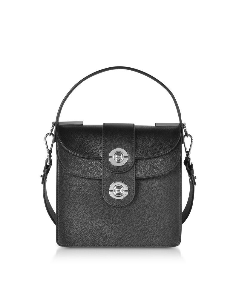 Coccinelle Leila Leather Shoulder Bag in black