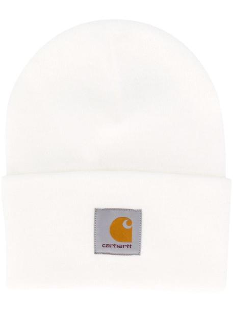 Carhartt WIP Watch logo patch hat in white