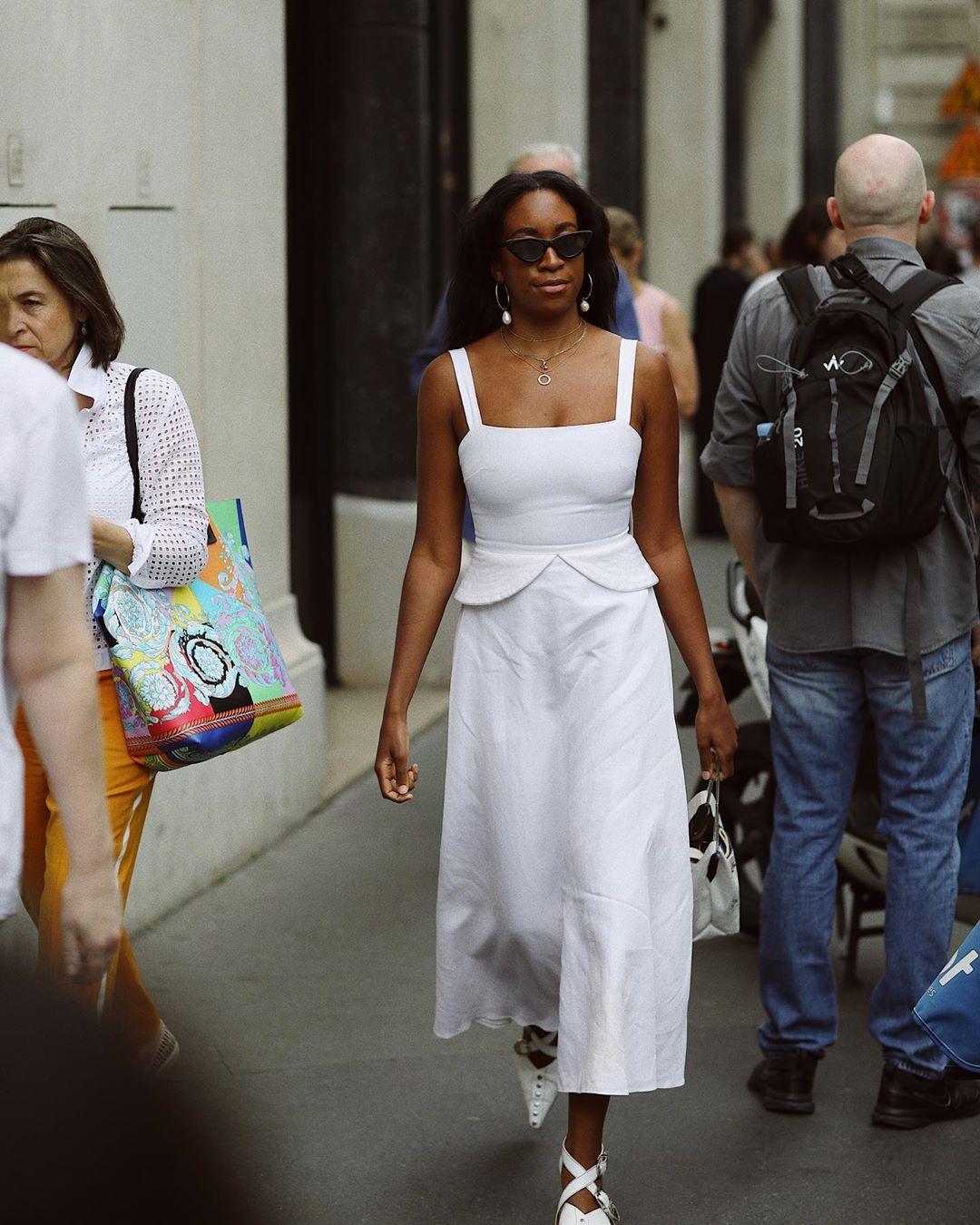 dress white dress midi dress short sleeve dress white sandals