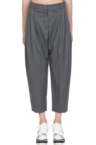 Stella McCartney Pants In Grey Wool