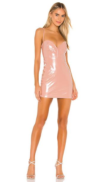 NBD Verona Mini Dress in Blush
