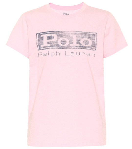 Polo Ralph Lauren Cotton T-shirt in pink