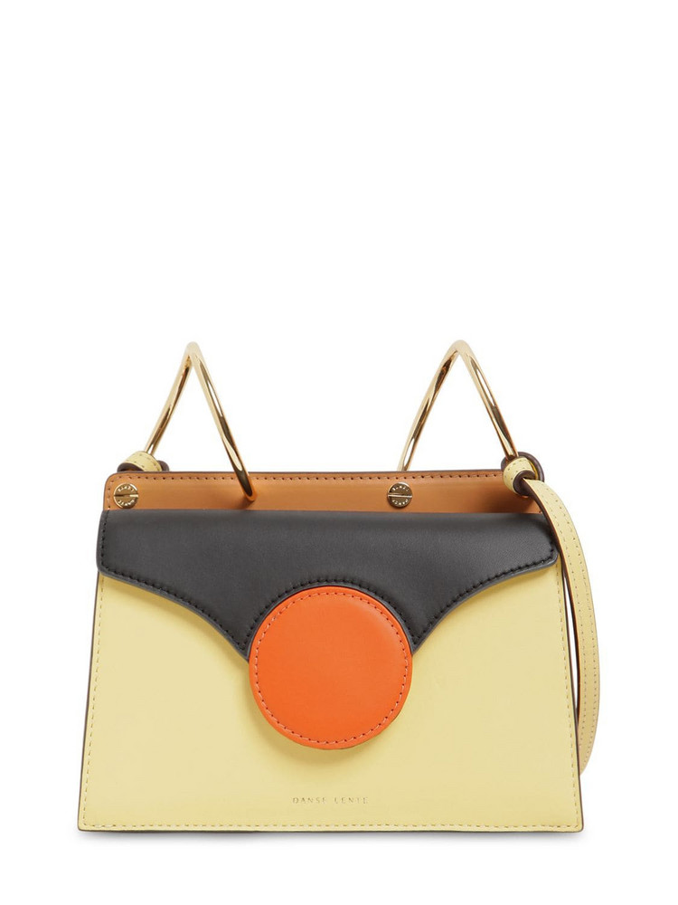DANSE LENTE Mini Phoebe Smooth Leather Bag in black