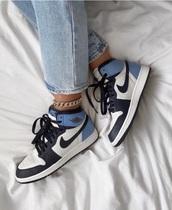 shoes,nike,blue,jordans,nike jordan blue