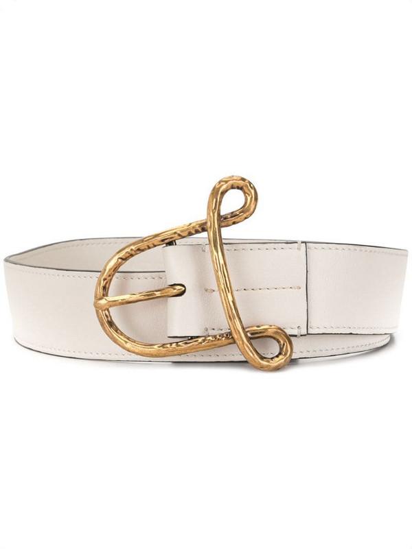 Altuzarra A belt in white