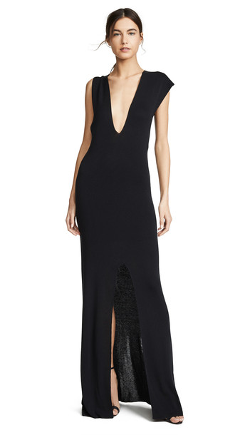 Jacquemus Azur Dress in black