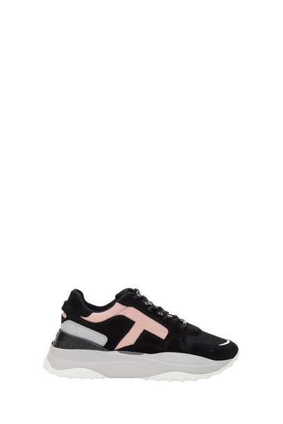 Tods Suede And Hig Tech Fabric Sneakers in nero