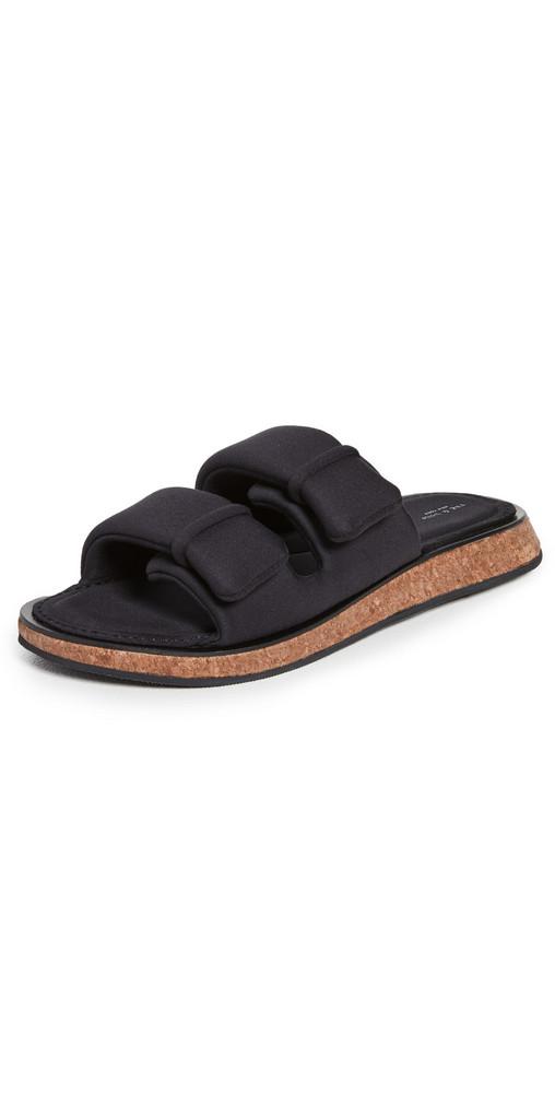 Rag & Bone Parque Slide Sandals in black