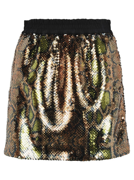N.21 N21 Sequins Embroidered Mini Skirt