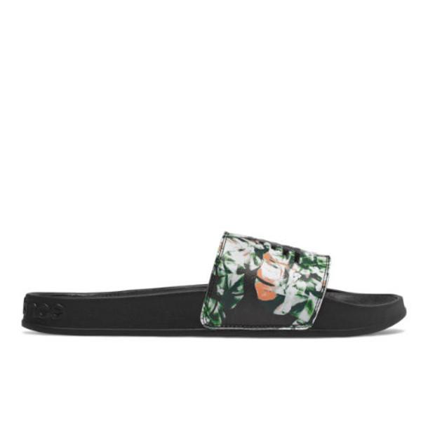 New Balance 200 Men's Slides Shoes - Black/Green/White (SMF200FK)