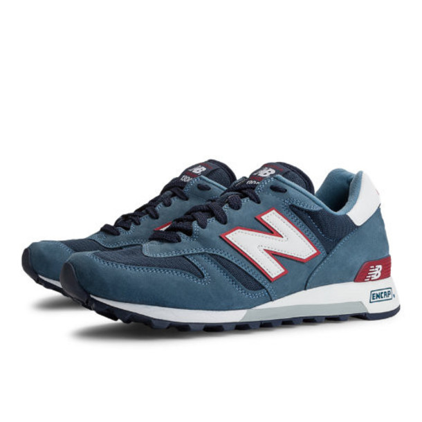 New Balance National Parks 1300 Men's Made in USA Shoes - Blue, Dark Blue, Red (M1300TR)