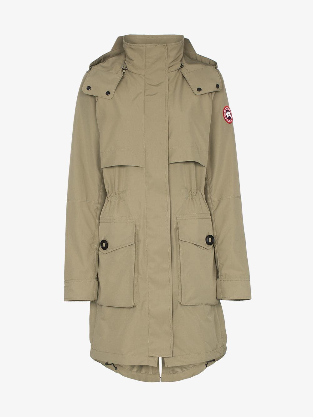 Canada Goose cavalry hooded parka coat in green