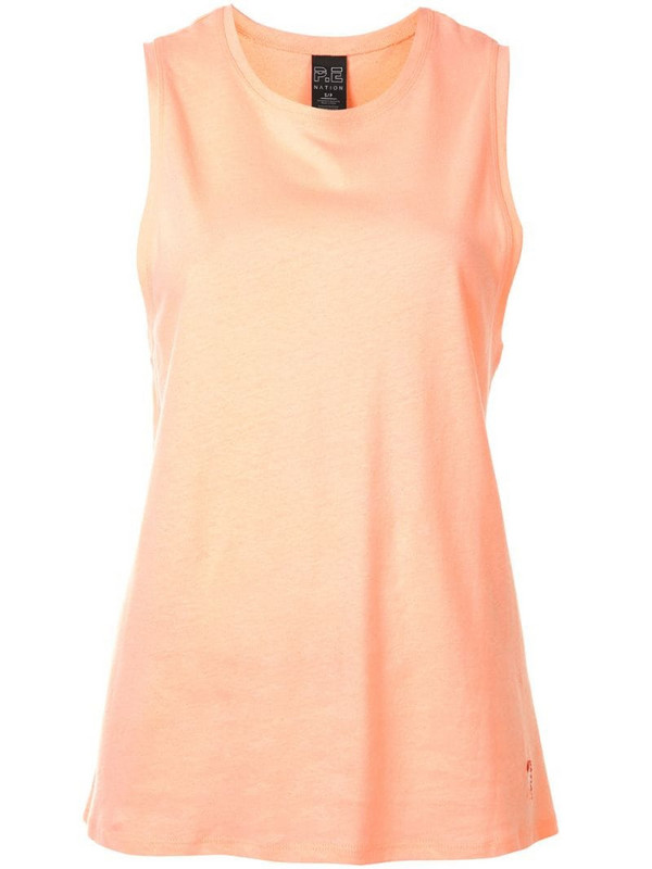 P.E Nation Field Run tank top in pink