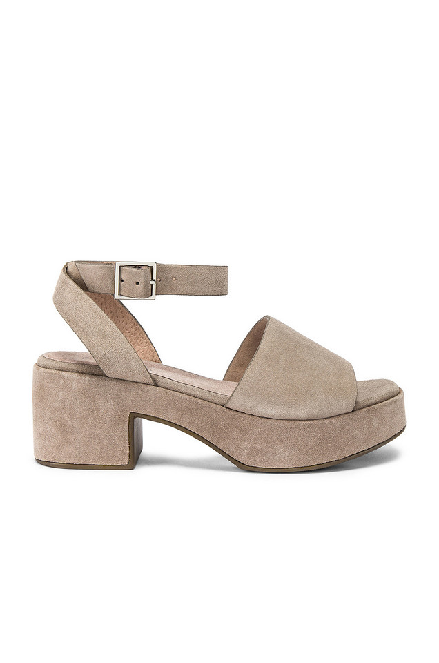 Seychelles Calming Influence Sandal in taupe