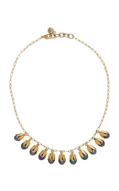 Lulu Frost Clairvoyant Gold-Plated Faux Pearl Necklace