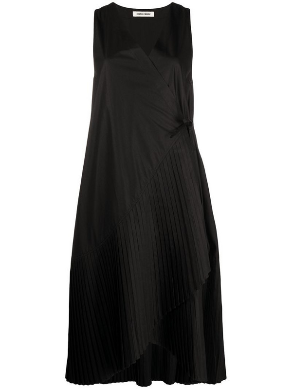 Henrik Vibskov Blaze skirt plissé dress in black