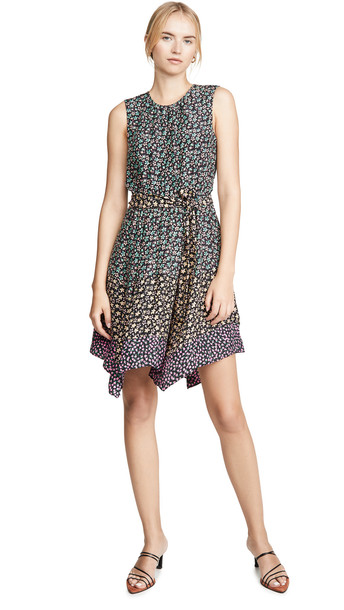 Rebecca Taylor Sleeveless Louisa Floral Dress in print