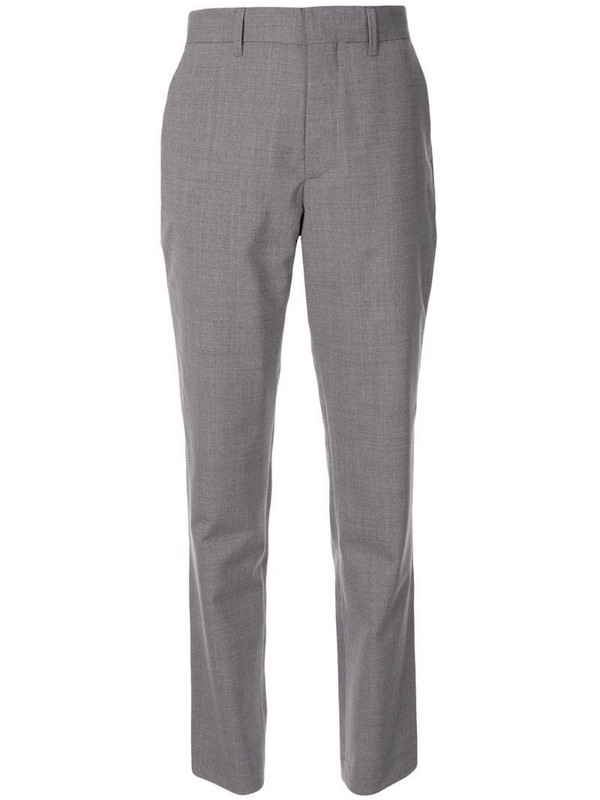 Coperni tailored straight leg trousers in grey