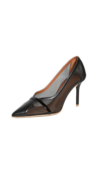Malone Souliers Brook Pumps 85mm in black
