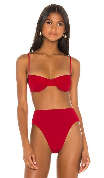 HAIGHT. HAIGHT. Vintage Bikini Top in Red
