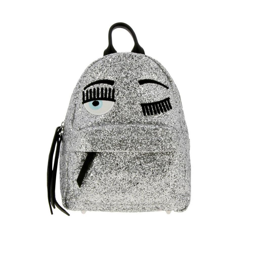 Chiara Ferragni Backpack Shoulder Bag Women Chiara Ferragni in silver