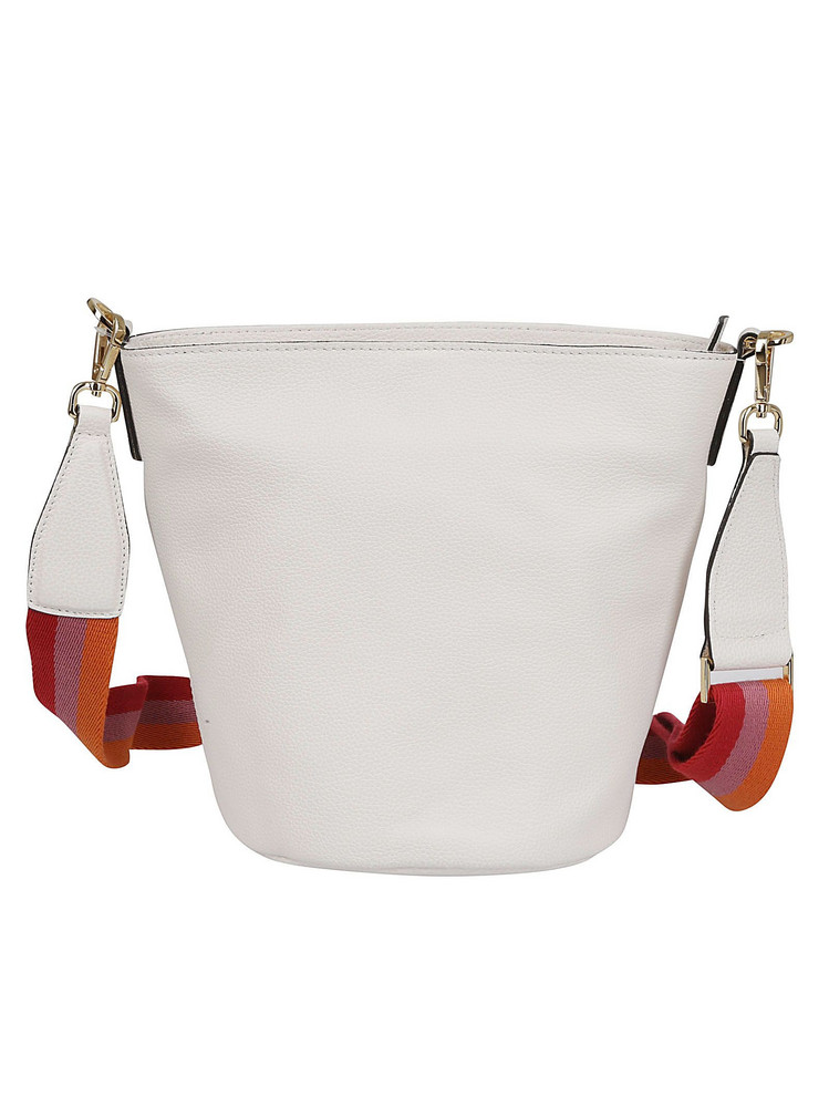 Gianni Chiarini Jackie Large Bucket Bag in white