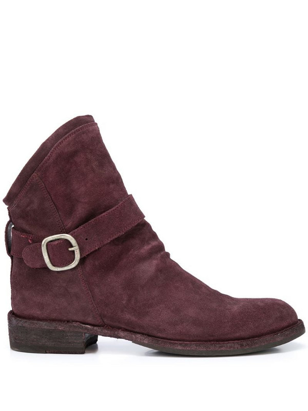 Officine Creative Legrand ankle boots in red