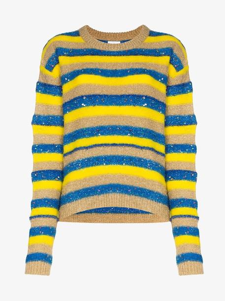 Ashish sparkly stripe knit jumper