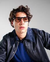 sunglasses,jacket,sweater