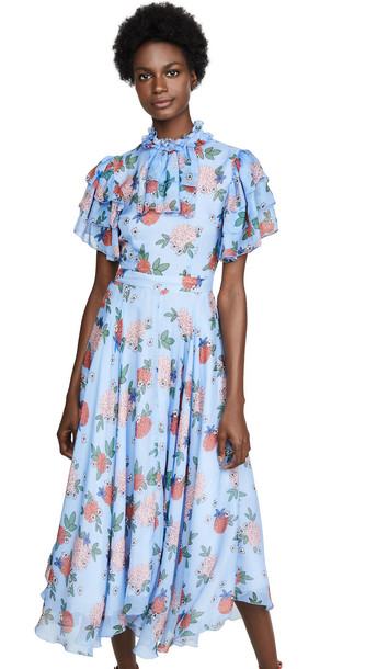 macgraw Sentimental Dress in blue