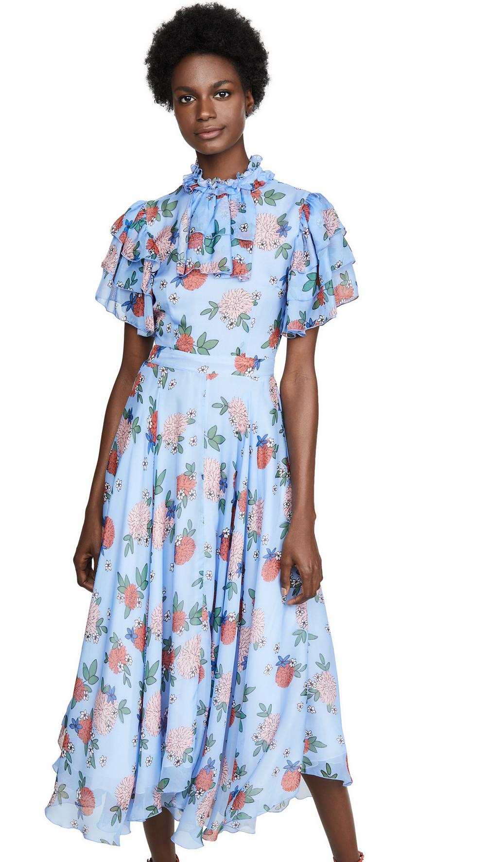 macgraw Sentimental Dress in blue