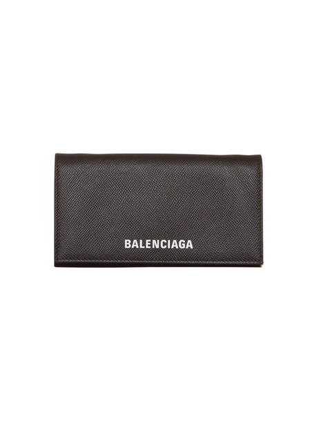 Balenciaga Ville Leather Bag With Hammered Leather in nero