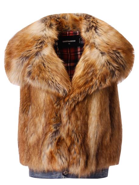 Dsquared2 Fur Vest