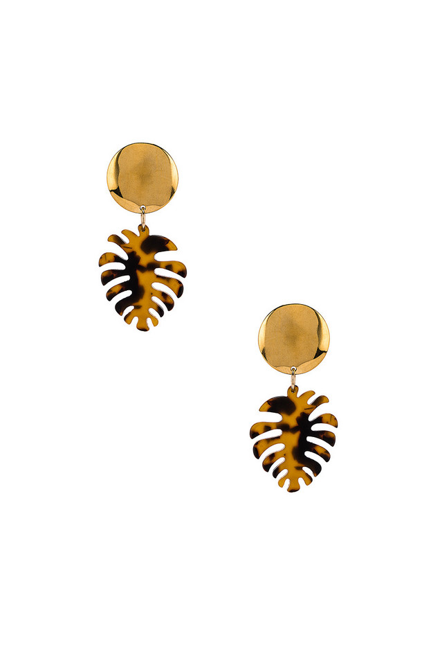 Paradigm Copa Cabana Earrings in gold / metallic