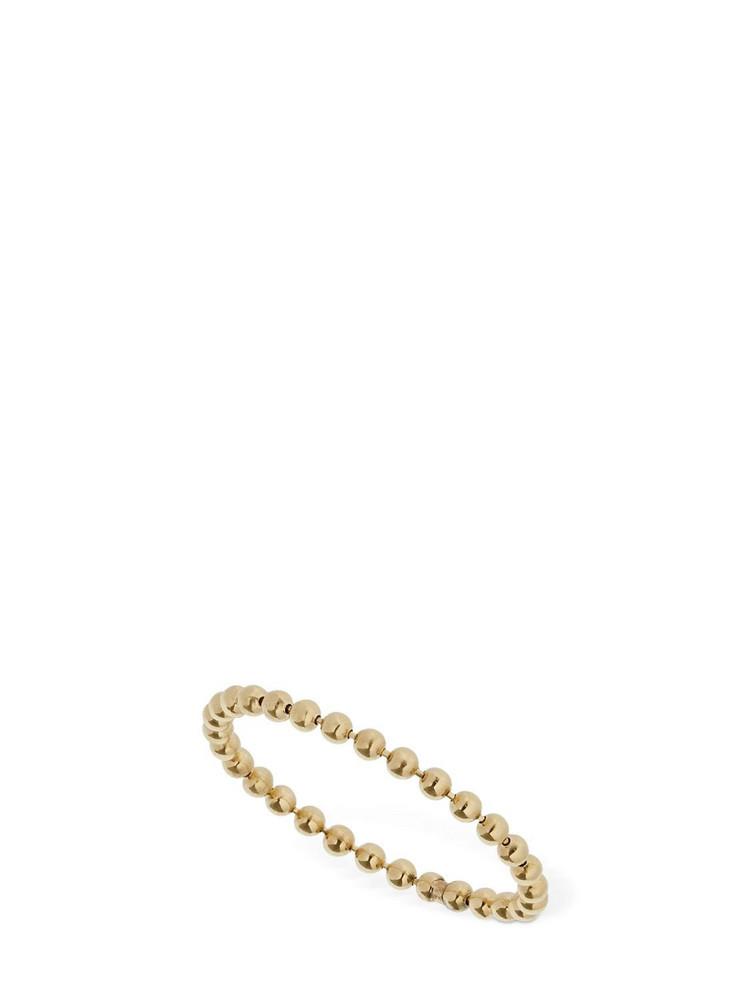 AG 18kt Gold Slim Chain Ring
