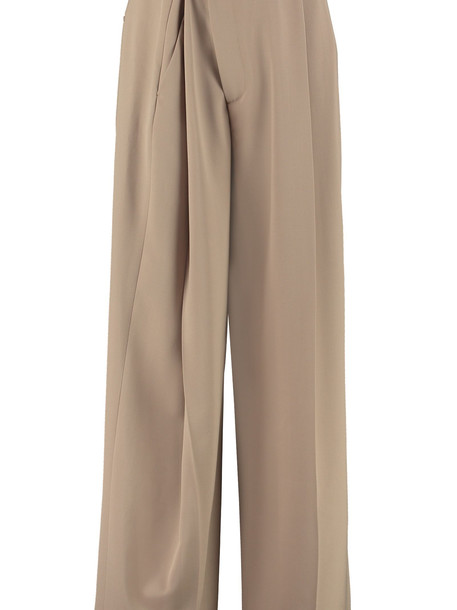 Maison Margiela High-waist Trousers in beige