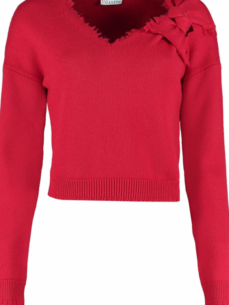 RED Valentino Virgin Wool Pullover