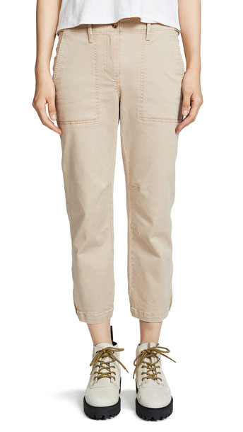 Derek Lam 10 Crosby Utility Pants in khaki