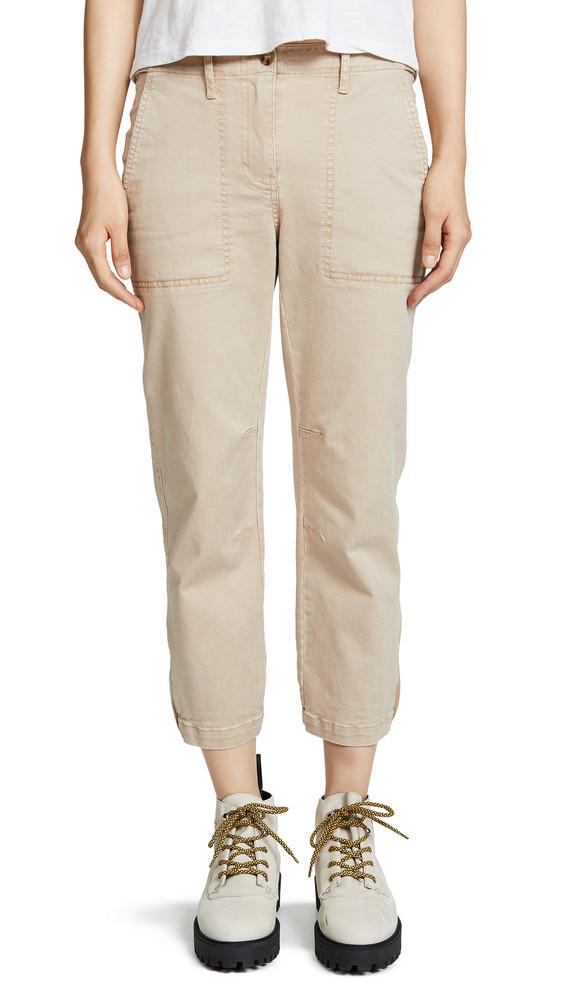 Derek Lam 10 Crosby Utility Pants in khaki