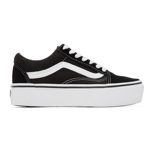 Vans Black Old Skool Platform Sneakers