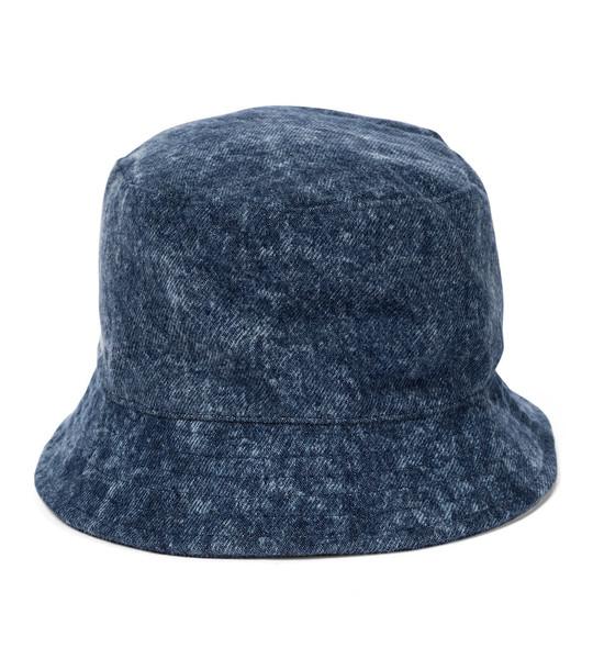 Isabel Marant Haley denim bucket hat in blue