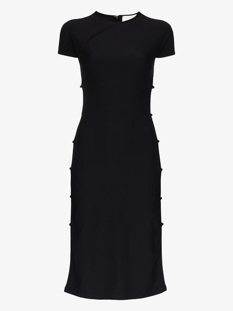 Marcia Tchikiboum midi dress in black