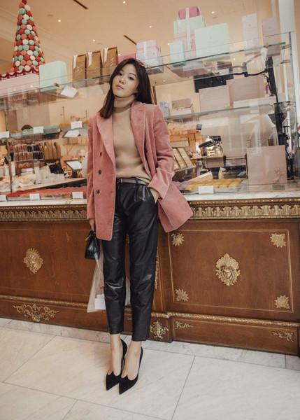 tsangtastic blogger jacket pants shoes