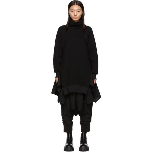 Regulation Yohji Yamamoto Black Turtleneck Dress