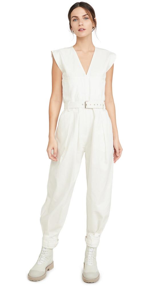 Rachel Comey Zahara Jumpsuit in white